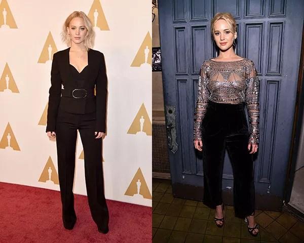 Looks com calça são queridinhos da atriz (Foto: Getty Images)