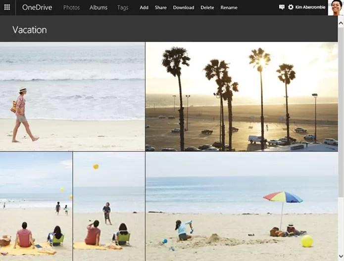 Windows 10 Mobile terá todos os recursos de fotos do Windows 10 (Foto: Divulgação / Microsoft)