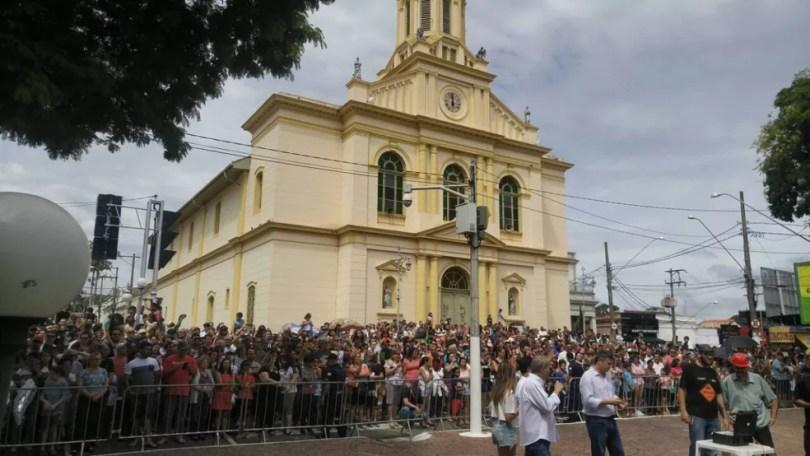 Mais de 4 mil pessoas acompanharam o evento em Itu (Foto: Jomar Bellini/TV TEM )