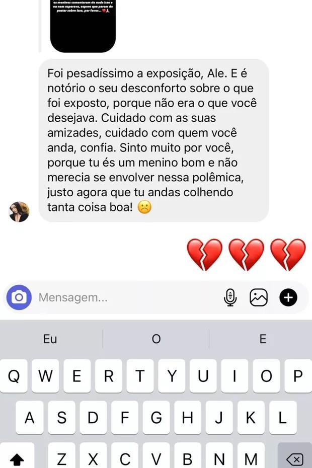 Após expor affair com Juliette, Alê Oliveira é criticado e se pronuncia (Foto: Reprodução/Instagram)