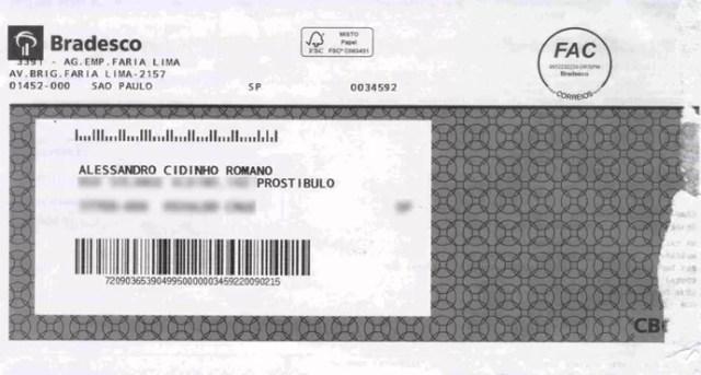 documento prostíbulo alessandro cidinho Romano (Foto: Reprodução)