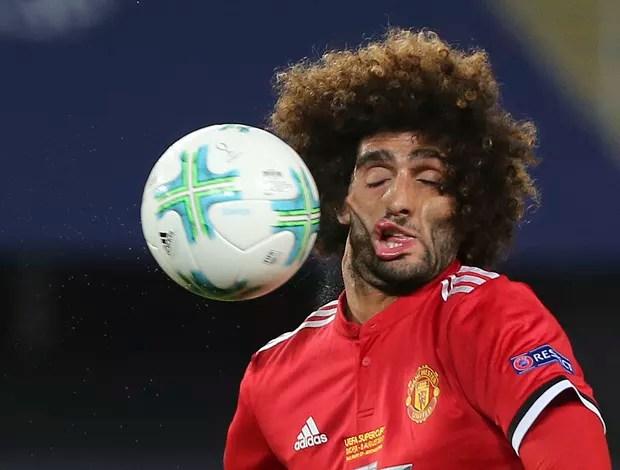 Marouane Fellaini Manchester United - AP