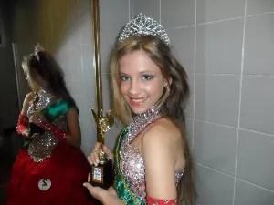 Garota de 13 anos pode disputar Miss Universo (Foto: Ana Miranda Sozzo / Arquivo Pessoal)