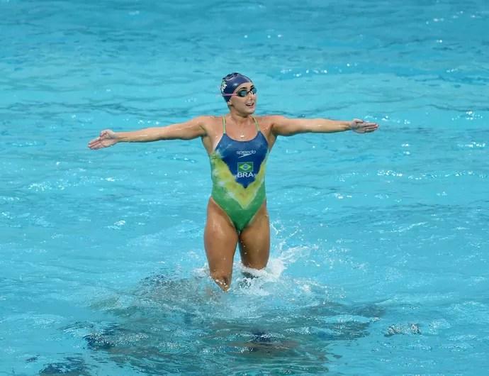 Lorena Molinos nado sincronizado (Foto: André Durão/GloboEsporte.com/NOPP)