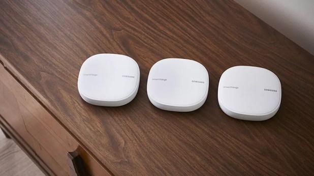 Samsung lança roteador SmartThings com tecnologia WiFi Mesh (Foto: Divulgação/Samsung)