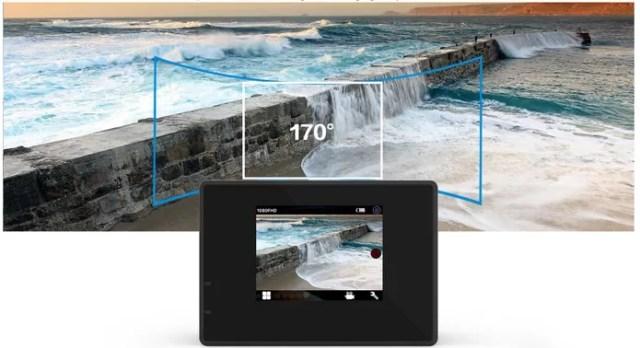 Câmera de ação SJ5000 oferece angulação wide e fotos em 14 MP (Foto: Divulgação/SJCAM)