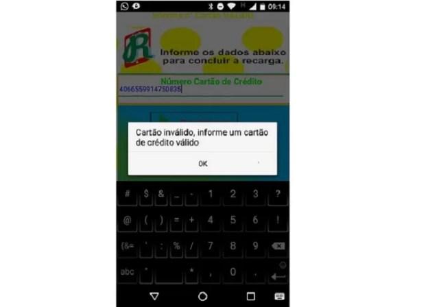 App para Android promete recarga de crédito e rouba dados de usuários