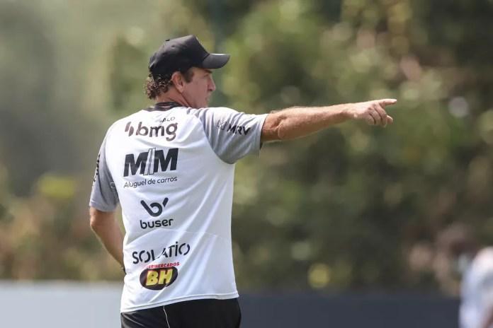 Técnico Cuca, do Atlético-MG — Foto: Pedro Souza/Atlético-MG