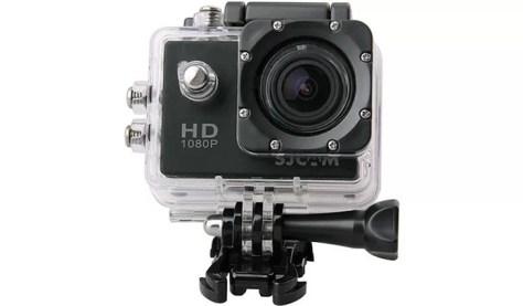SJCAM SJ4000 grava vídeos em Full HD e tem resolução de 12 MP para fotos (Foto: Divulgação/SJCAM)