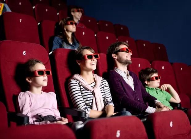 cinema_3d_familia (Foto: Shutterstock)