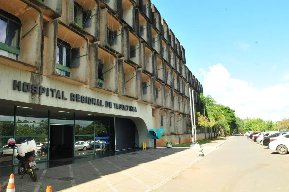 Fachada do Hospital Regional de Taguatinga, no Distrito Federal, em imagem de arquivo — Foto: Tony Winston/Agência Brasília