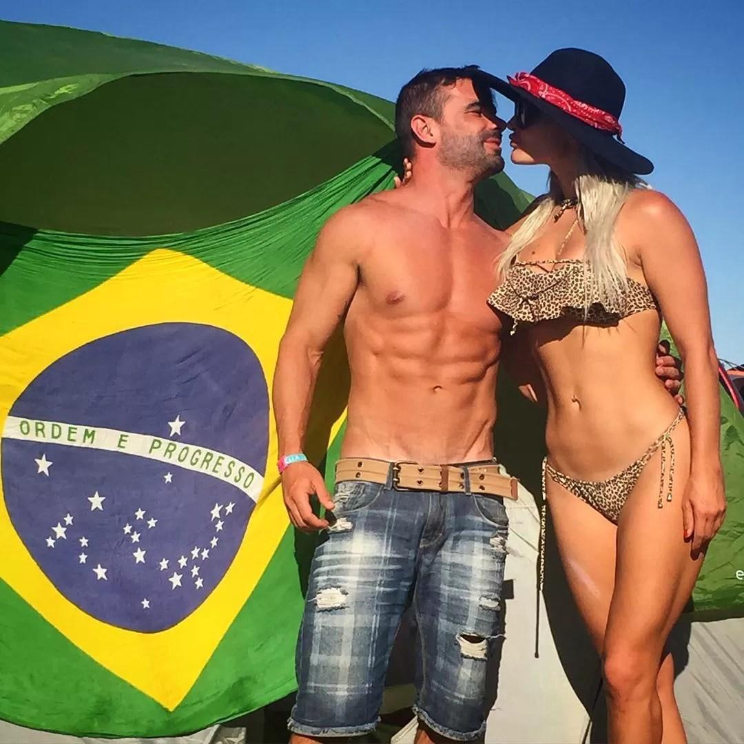 Laura Keller e Jorge Sousa (Foto: Reprodução/ Instagram)