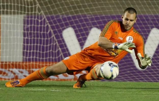 Deola jogou no Palmeiras nesta década — Foto: Cesar Greco/Ag Palmeiras/Divulgação