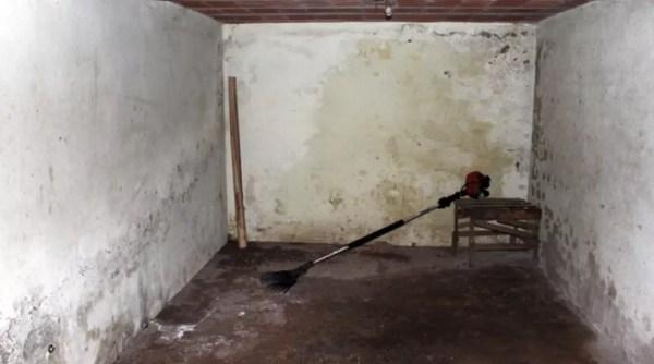 Corpos de mãe e filha foram esquartejados no porão da casa de produtor, em Silvianópolis — Foto: Reprodução EPTV