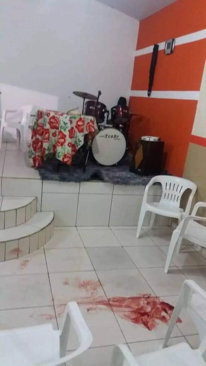 Vítima foi morta enquanto pregava em culto evangélico, diz polícia em MS — Foto: Polícia Civil/Divulgação