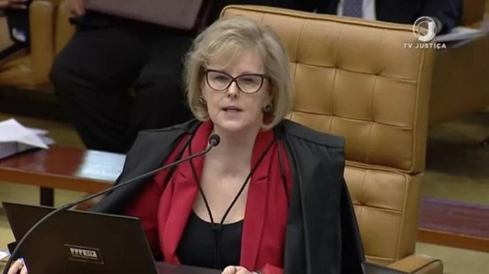 Ministra Rosa Weber, em imagem de arquivo — Foto: Reprodução/TV Justiça
