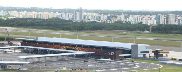 Novo terminal de passageiros do Aeroporto de Vitória, inaugurado em 29 de março de 2018 (Foto: Ari Melo/ TV Gazeta)