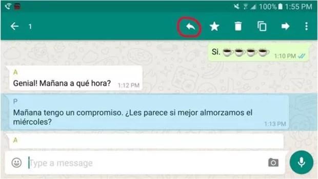 WhatsaApp ganha recurso para mensagens em grupo; 2º Passo (Foto: BBC)