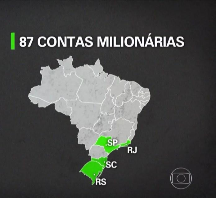 Funcionáriade banco no ES acessou contas de possíveis vítimas — Foto: Reprodução/ TV Globo