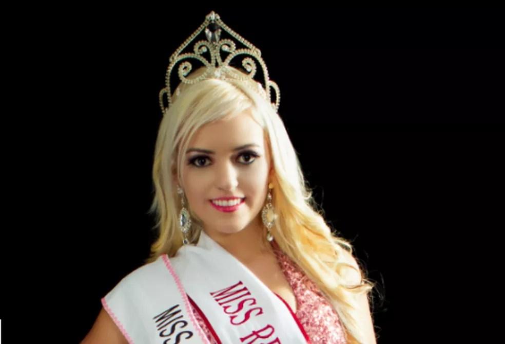 Lauren Adana foi Miss Renascença e Miss Paraná World 2012/2013 — Foto: Divulgação