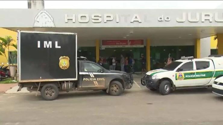 Duas pessoas morreram no acidente — Foto: Reprodução Rede Amazônica Acre