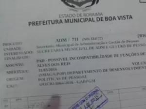PAD pretende avaliar incompatibilidade de atividades do sindicalista (Foto: Arquivo pessoal/ Fanor Reis)