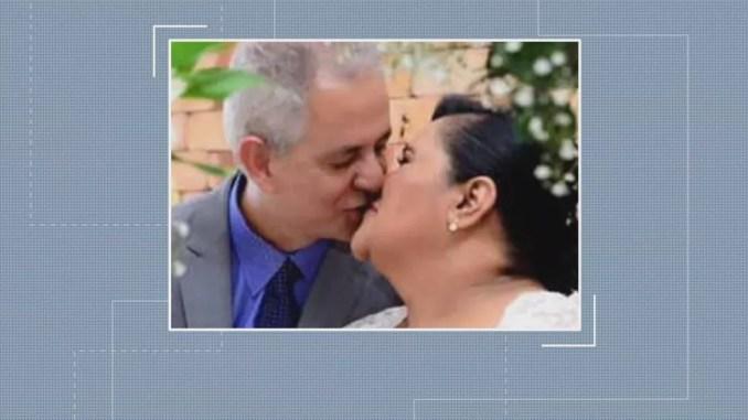 O casal Álvaro e Marluce morreu de Covid-19 em Betim — Foto: Arquivo pessoal/Divulgação