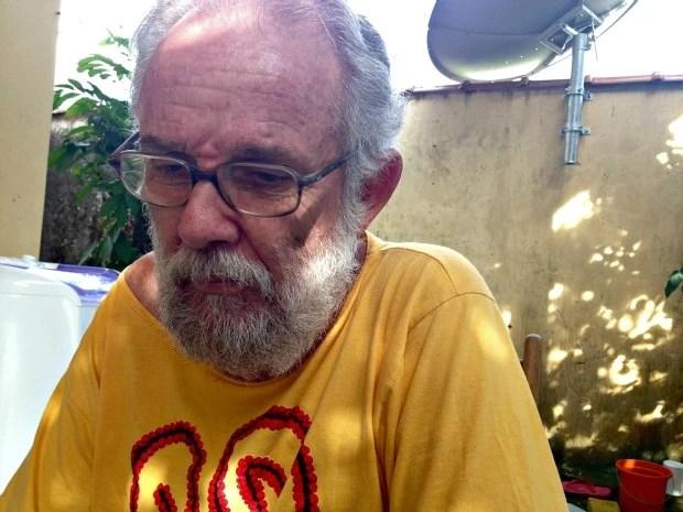 Carlos Meirelles conversou com o G1 sobre a atual situação dos índios isolados (Foto: Veriana Ribeiro/G1)