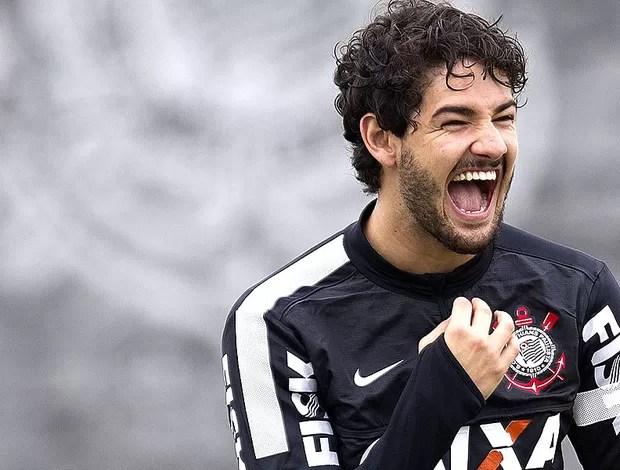 Pato treino Corinthians (Foto: Daniel Augusto Jr. / Ag. Corinthians)