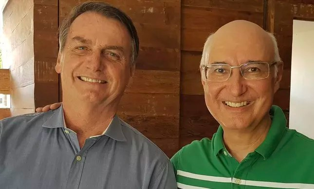 Jair Bolsonaro e o ministro do TST Ives Gandra Filho