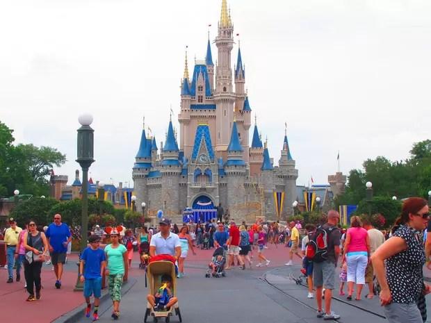 Com o famoso Castelo da Cinderela, o Magic Kingdom, da Disney, ficou em quarto lugar na pesquisa (Foto: Flávia Mantovani/G1)
