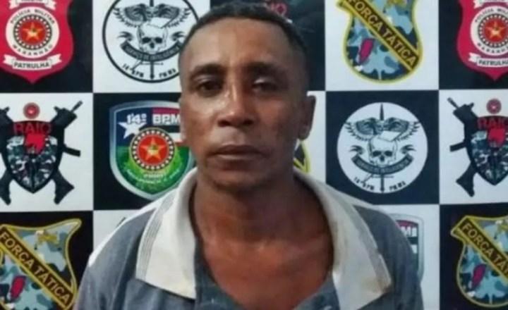 Francisco Pereira é suspeito de cometer um assassinato por causa de um pedaço de melancia em Davinópolis, no Maranhão — Foto: Divulgação/Polícia Civil
