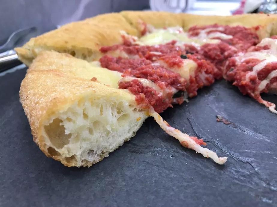 Pizza de Fermentação Longa