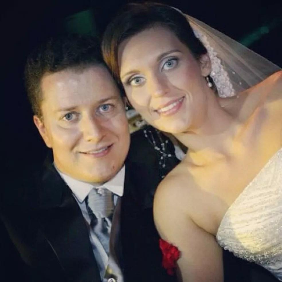 Sérgio Dias Pacheco, médico de Sorocaba, se casou com Raquel Maria Pereira em 2009 (Foto: Sérgio José Dias Pacheco/Arquivo pessoal)