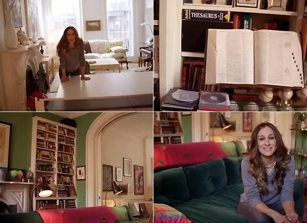 Sarah Jessica Parker abre as portas de sua casa em West Village  Quem  QUEM News
