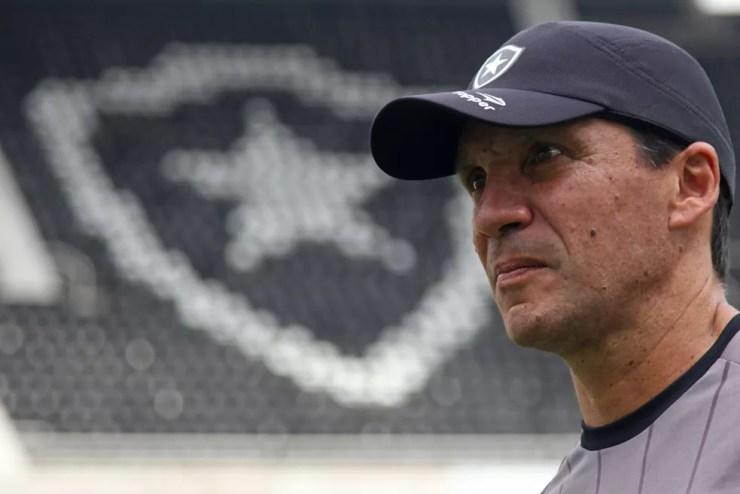 Zé Ricardo é técnico do Botafogo no momento — Foto: Vitor Silva/SSPress/Botafogo