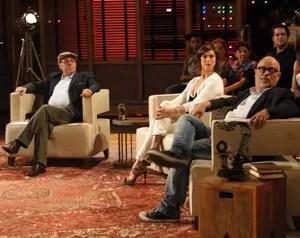 Convidados da estreia do Na Moral (Foto: Na Moral / TV Globo)