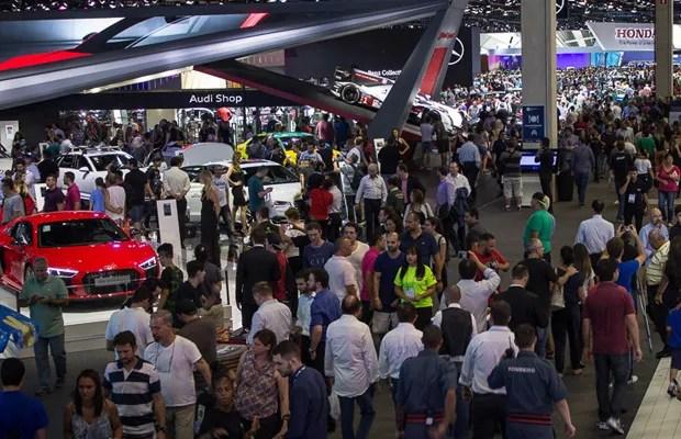Salão do Automóvel de São Paulo 2016 (Foto: Divulgação)