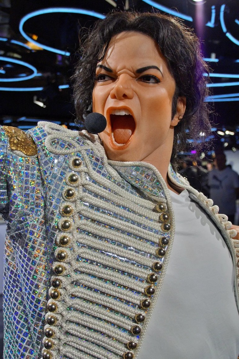 Michael Jackson em estátua de cera — Foto: Pixabay
