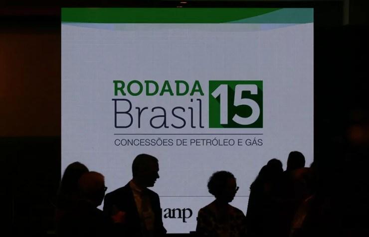 Leilões de petróleo e gás da ANP realizados no ano já garantiram ao governo uma arrecadação de mais de R$ 11 bilhões — Foto: Pilar Olivares/Reuters