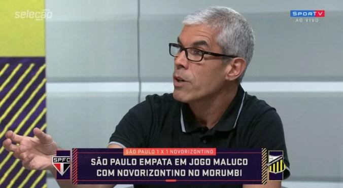 Ricardinho fala sobre momento do São Paulo no Seleção SporTV — Foto: SporTV