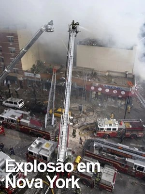 Desabamento parcial de 2 prédios mata 1 pessoa e fere 16 nos EUA (John Minchillo/AP)