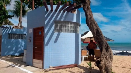 Banheiros são alvo de reclamações de usuários (Foto: Camila Torres/Inter TV Cabugi)