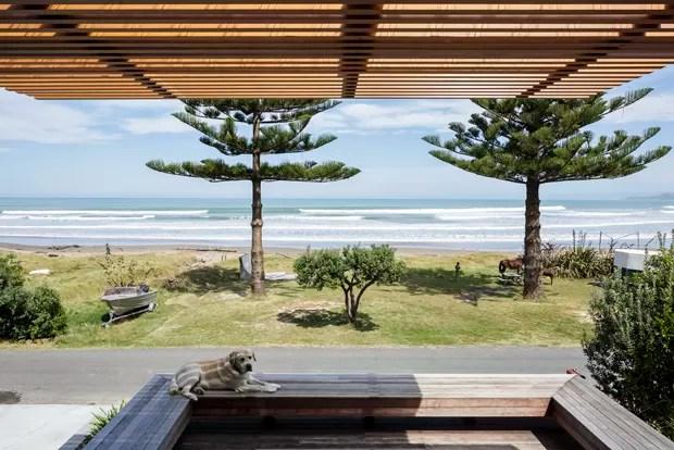 Casa moderna e descolada na Nova Zelândia (Foto: Patrick Reynolds / divulgação)