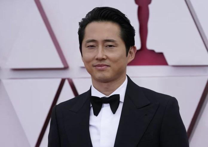 """Steven Yeun, indicado a melhor por """"Minari"""", no Oscar 2021  — Foto: AP Photo/Chris Pizzello"""