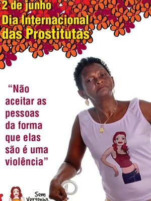 Flyer da campanha pelo Dia Internacional das Prostitutas (Foto: Divulgação)