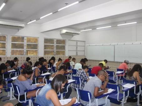 IFPE tem menor abstenção em sete anos nas provas do processo seletivo; exames são realizados neste domingo (27) (Foto: Ascom/IFPE)
