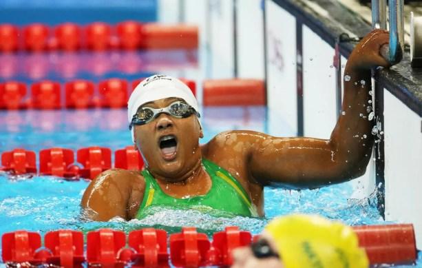 Patrícia Santos é uma das esperanças da natação brasileira para o Mundial do México (Foto: Cezar Loureiro/MPIX/CPB)