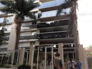 Cantor foi encontrado morto em seu apartamento, em Pinheiros (Foto: Letícia Macedo/G1)