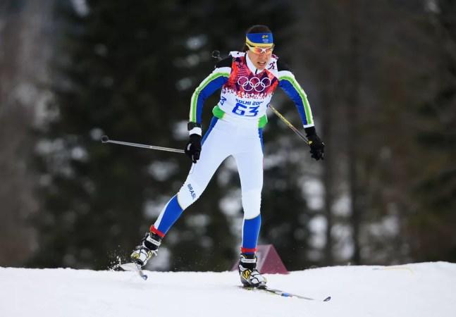 Jaqueline Mourão, Olimpíada de Inverno — Foto: Getty Images